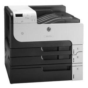 HP LaserJet A3 Printer Model: Ent M712dn