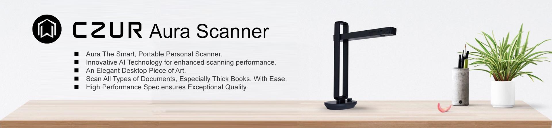 czur aura scanner