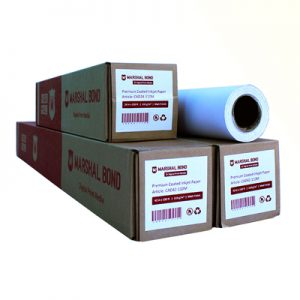 CAD42-110M <br /> Marshal Bond Inkjet <br /> Coated Paper 42 Inch